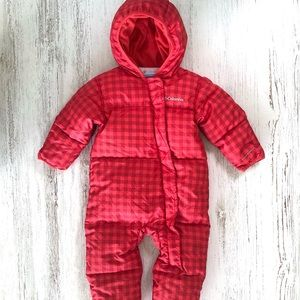 COLUMBIA Down Blend Fleece lined Snowsuit 12-18M